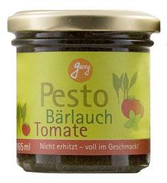 Bärlauchpesto mit Tomate