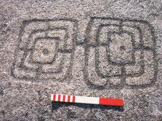 Gravure principale du site du Potevert à la Boissière de Montaigu