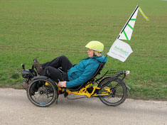 E(ichel)-Biker im Melissenwald