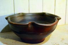 фруктовая тарелка глиняная посуда