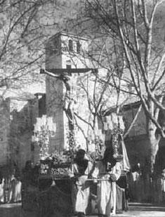 Procesión de Penitencia y Caridad, 1949.