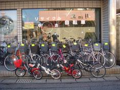 中古自転車 リサイクル 格安自転車 リユースサイクル 美濃加茂市 岐阜県 唯一 販売 買取り