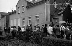 Begehung der Protestbewegung 1974 -  Bildrechte A. Kampert & ISG