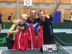 Tischtennis-Mannschaft des GSBV Halle/S.