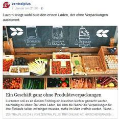 Unverpackt Luzern in Zentralplus