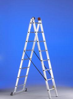 escalera transformable 2 tramos estandar aluminio