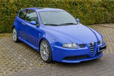 Alfa Romeo 147 mit Navigationsgerät Aussenansicht