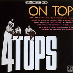 the Four Tops - 1966 / Four Tops On Top