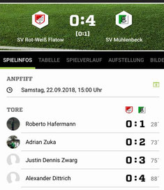Spielinfo - Screenshot