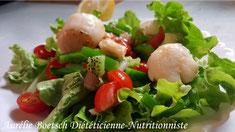 salade Saint Jacques végétarienne