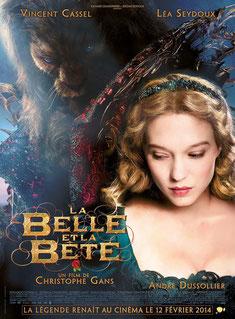 Léa Seydoux et Vincent Cassel sont la Belle et la Bête (©Pathé Distribution)