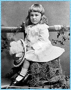 Франклин Рузвельт в детстве