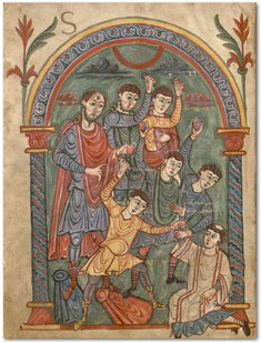 Blog Scola Metensis-Lapidation de saint Étienne