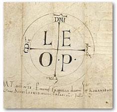 Blog Scola Metensis-monogramme de Léon IX