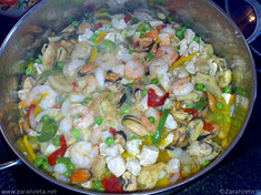 Zarahzetas Foodblog mit Rezept für Paella ©Zarahzeta2015