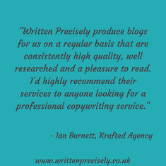 Feedback about Written Precisely's blogging service.