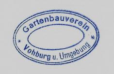 Stempel Gartenbauverein Vohburg