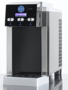 Wasserspender kühles frisches Sprudel Wasser Kohlensäure heiß kalt