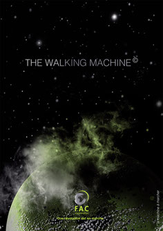 Fer a Coudre The Walking Machine Project Credit affiche Margot Hinker La machine à Marcher