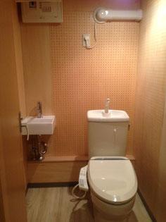 トイレも防音使用