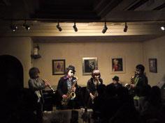 1/29(日)LIVE at カフェクレール LIVE①