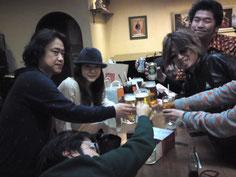 1/29(日)LIVE at カフェクレール 打ち上げ