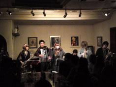 1/29(日)LIVE at カフェクレール LIVE②