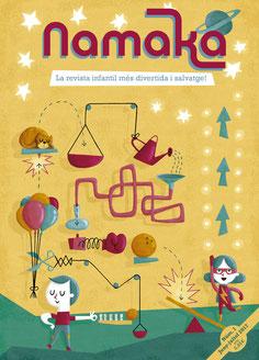 comprar revista infantil Namaka numero 1