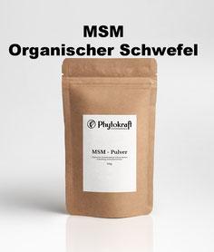 12,00 EURO - MSM 100% Organischer Schwefel - 500g
