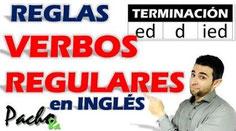 Las 5 reglas para la terminación ED que debes aprender - Verbos Regulares Pacho8a