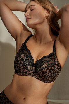 Prima Donna tulle rebrodé coloré poitrines généreuses lingerie Lugdivine Marseille
