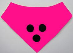 Blindenhalstuch pink,Halsband, Loop, Blinder Hund, Blindenhund, Halstuch, Blindenhalstuch, Blindenbegleithund