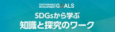 SDGsから学ぶ知識と探究のワーク,sustainable debelopment golals,サステナブルデベロップメントゴールズ