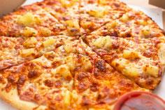 Pizza mit Wunschbelag