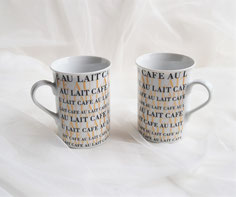 2er-Set CAFE AU LAIT 11,50 €
