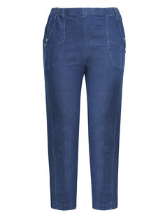 Frauen Cargohose denim Plus Size