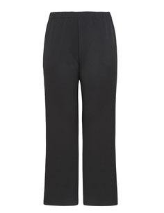 schwarze elegante Plussize Damen Hose, Größe 50