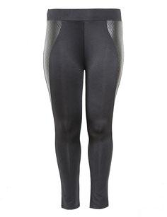 Plussize Damen Hose schwarz in Größe 50