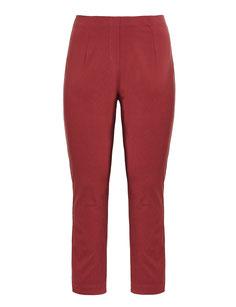 rote Damenhose für große Größen , rote Damenhose in Größe 48