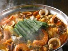 海鮮ちげ鍋