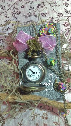 Rainbow clock 20#