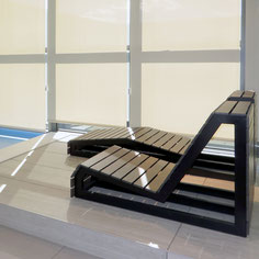 Which stone is most resistant to mold, water and extreme heat so that it can be installed in saunas and swimming pools