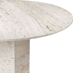Which stone natural or engineered fits better for coffee table