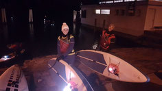 Vollmond SUP Tour im Winter