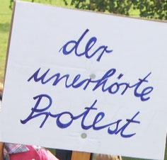 Für mehr Protest aufs Bild klicken!