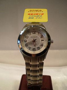 チタン製 ソーラー腕時計