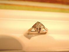 古いダイヤの指輪をリフォーム