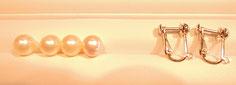 パールネックレスを短くした際、余った真珠。このままにしておくには、もったいないので……。