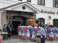 神輿行列渡御(五島軒様)