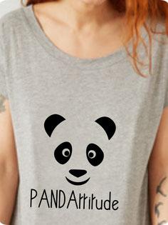tshirt avec panda